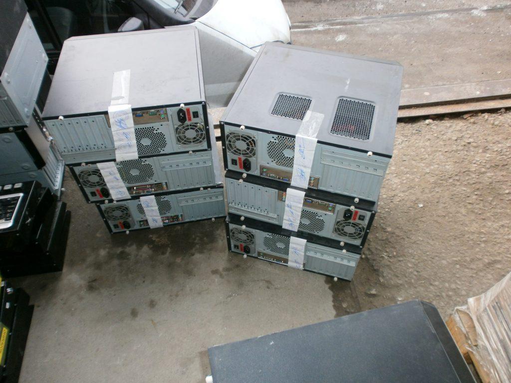 опечатанные компьютеры
